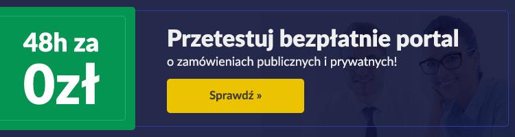 Portal zamówienia publiczne